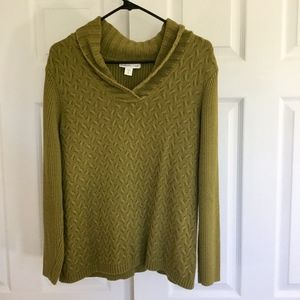 Coldwater Creek v neck sweater XL